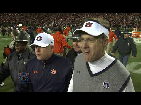 #Auburn's Final Play in Iron Bowl: Chris Davis Return for TD