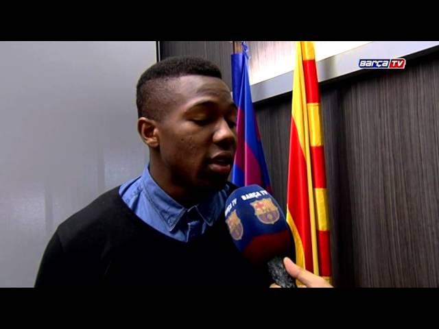 Barça B's Adama Traoré renews his contract until 2018