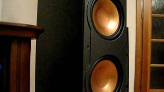 Klipsch rf-82 with harman kardon avr 460 basstronics Bass I LOVE YOU