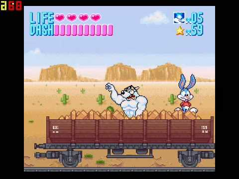 Tiny Toons Adventure - Buster Busts Loose! Stage 2
