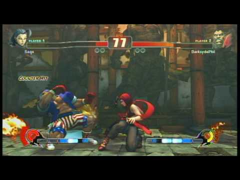 Street Fighter 4 -  Saqs(Rose) vs Darksydephil(Balrog)