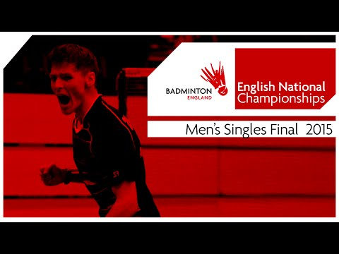 Men's Singles Final - 2015 English National Badminton Championships video