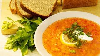 Солянка сборная мясная рецепт - Solyanka Recipe