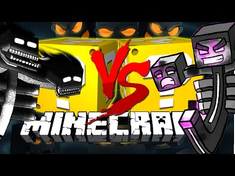 Minecraft | WITHER LUCKY BLOCK CHALLENGE | Evolving Wither Boss!!