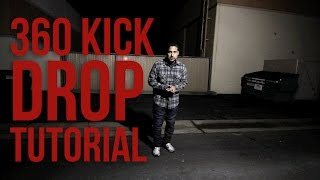 How to Breakdance I 360 Kick Drop I Poe One (Style Elements)