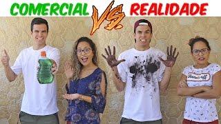 COMERCIAL VS REALIDADE! - KIDS FUN
