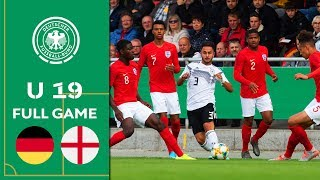 Germany vs. England 1-0 | Full Game | U19 Friendly