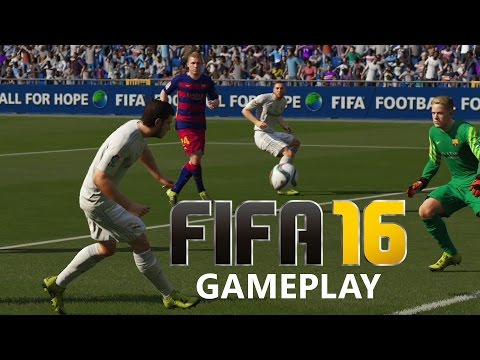 Fifa 16 Gameplay - REAL MADRID vs BARCELONA