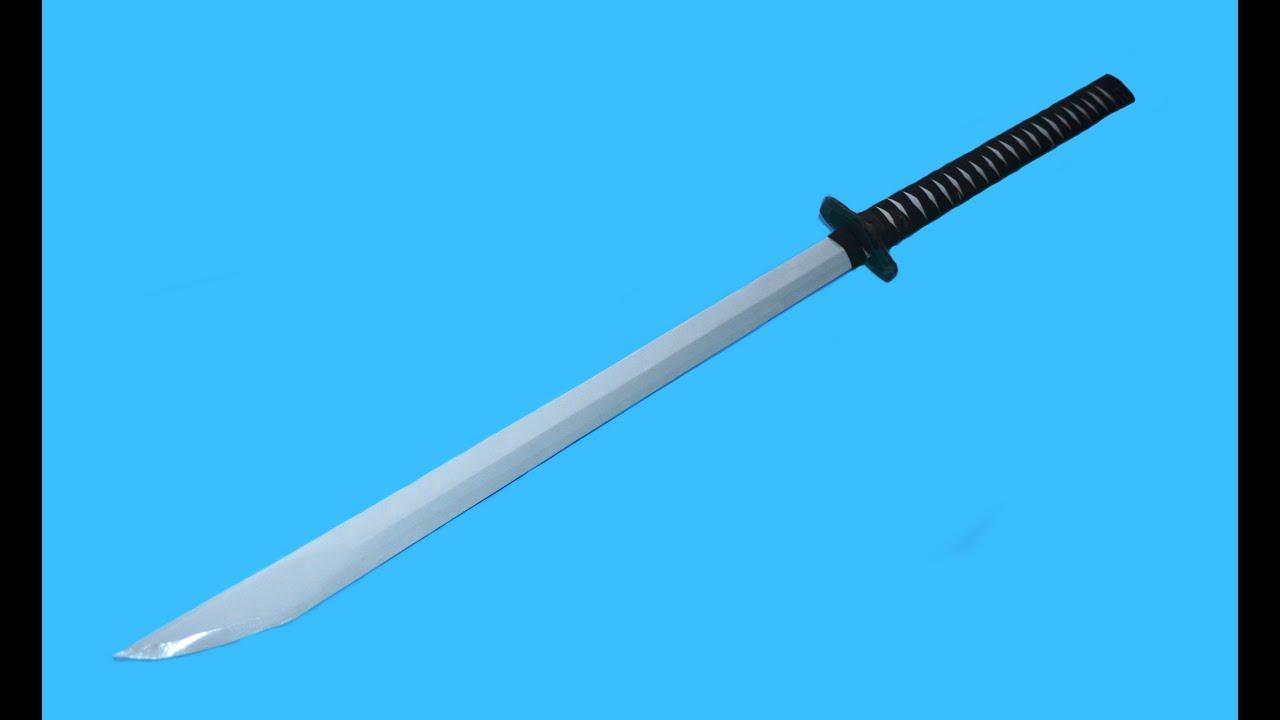 Как сделать из бумаги меч: схемы и видео 39