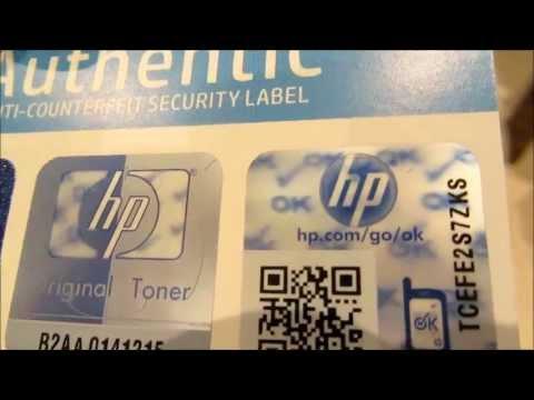 Como saber si un cartucho HP es original