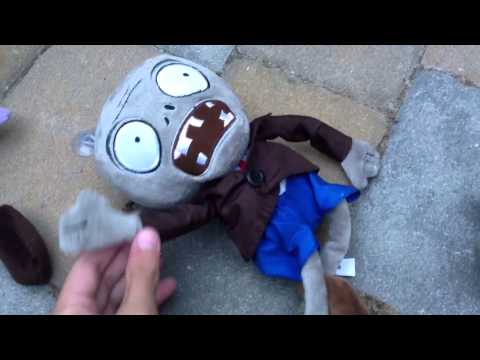 Plants Vs Zombies Plush The Zombies Attack Youtube