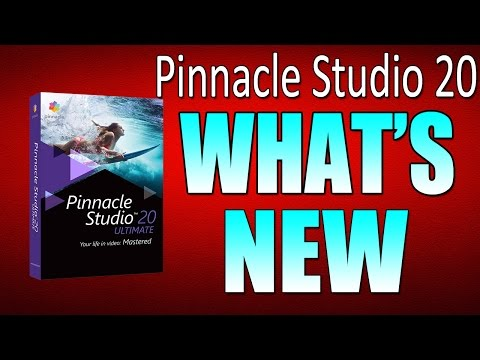 Pinnacle Studio 20 Ultimate Review and Tutorial   What's New