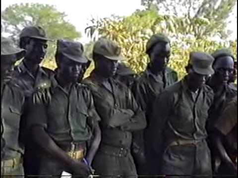 The SPLA forces in Front-line for Rumbek attack under Salva Kiir Mayardit part.2