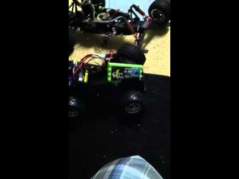 Rc car nodded