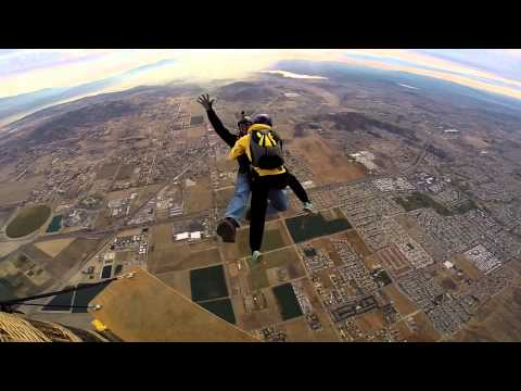 Bullet Train [gopro 3+] Skydiving video