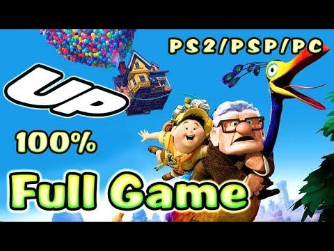 Disney Pixar's UP Walkthrough 100% Longplay FULL GAME (PS2, PSP, PC)