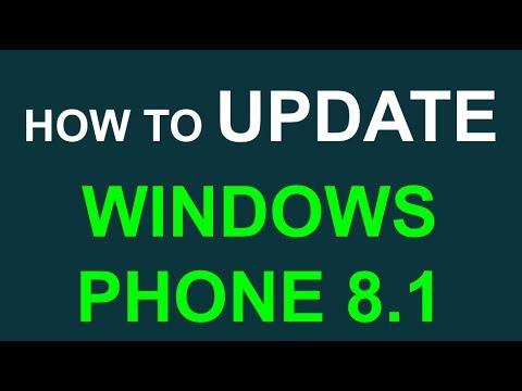 Update your phone to Windows Phone 8.1 (Lumia ICON Verizon 520 620 720 820 920 1020 1520)
