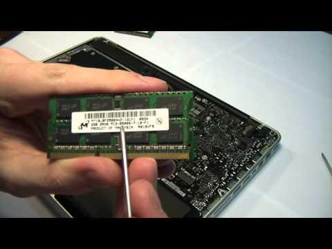 Апгрейд оперативной памяти MacBook Pro Unibody