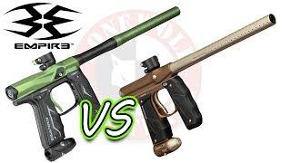 Empire Axe 2.0 vs Mini GS Shooting Paintball Gun Comparison | Lone Wolf Paintball Michigan