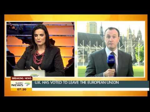 UK votes to leave European Union
