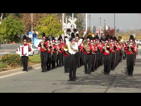 Liberty Marching Band Veterans Day Parade 2013