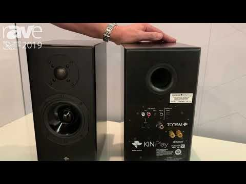 ISE 2019: Totem Acoustic Debuts KINPlay Powered Speaker with Bluetooth