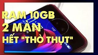 """Vivo Nex 2: RAM 10GB, 2 màn hình, 3 cam, hết """"thò thụt"""""""