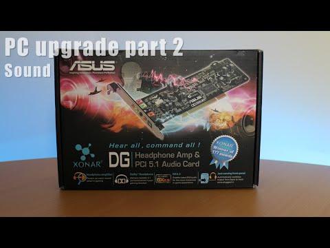 Asus Xonar 5.1 DG PC soundcard