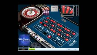 Method to win money playing roulette on an online casino. Win over $150 a day!