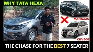 Why I Bought TATA HEXA and not XUV500 & MAHINDRA MARAZZO| Owner Review| Best SUV |REVIEW|टाटा हेक्सा
