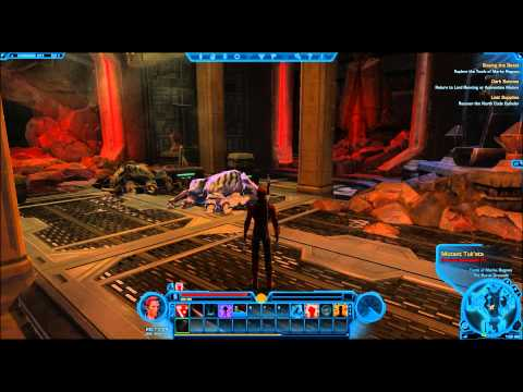 Sith Warrior LvL 1-10 - Episode #3 [SPOILERS] Holy Plays - Star Wars: The Old Republic