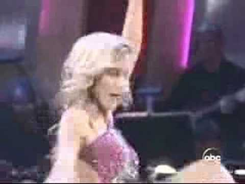 Heather Mills Dances to Benny Hill Video