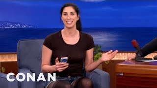 Sarah Silverman's Dirty Smartphone Hack - CONAN on TBS