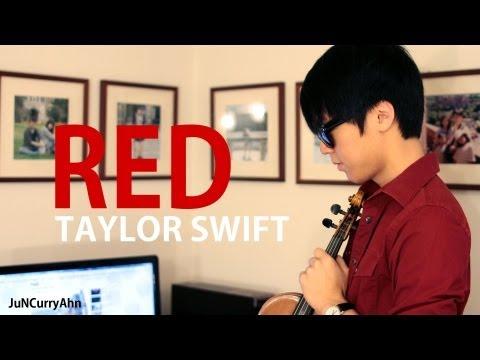 Taylor Swift - RED - Jun Sung Ahn Violin Cover