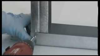 Constructie perete gips-carton (usi glisante Eclisse)