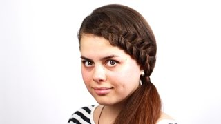 Хвост с плетением. How To a Braided Tail