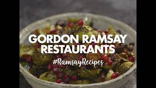 Brussels Sprout Salad Recipe   Christmas   Gordon Ramsay
