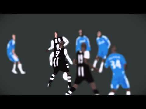 Papiss Cissé v Chelsea Animation