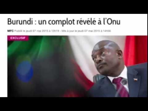 BURUNDI : UN COMPLOT MONTÉ DE LONGUE DATE, RÉVÉLÉ À L'ONU PAR MAÎTRE BERNARD MAINGAIN.