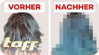 Blondieren völlig verpfuscht: Ist Jaqueline (21) zu helfen? | SOS - Einsatz der Beauty-Retter | taff
