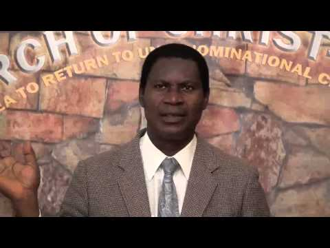 Kingdom part 5, Minister Abraham Monney, Church of Christ,Ghana  15 03 2015