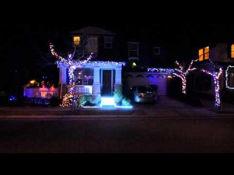 "readerfamily christmas lights 2013 ""Merry Xmas Everybody by Slade"""