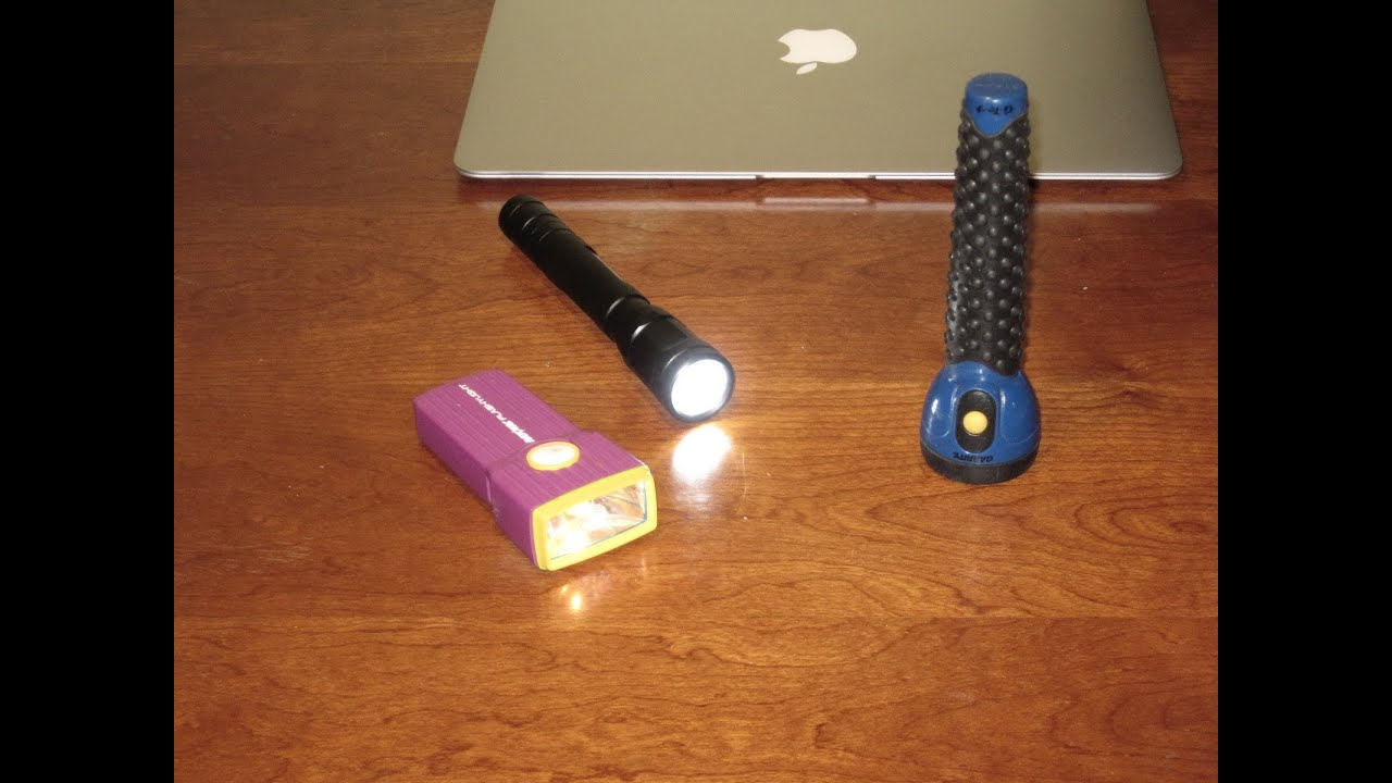 Incandescent Flash lights, Torch NOT JUST LED! A MUST FOR THE PREPPER