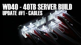 WD40 TTL's 40TB Server  Update #1 Adaptec 81605ZQ Raid Card
