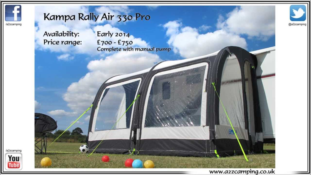 A2zcamping Co Uk Present The All New Kampa Rally 330 Air