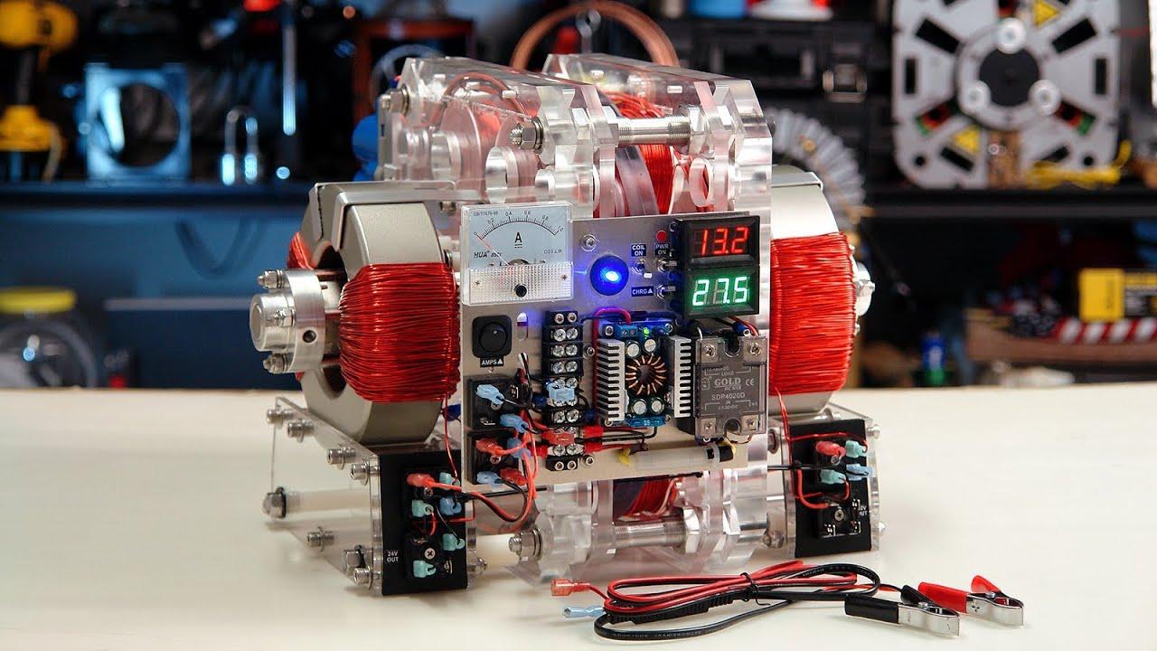 T2 Generator Resonant Regenerative Power Looping New
