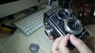 Rolleicord V Twin Lens Reflex Medium Format Camera