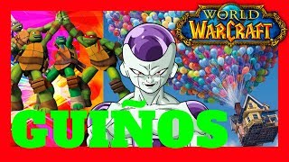🔥GUIÑOS en World Of Warcraft (Easter Eggs)(Wow)