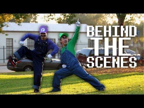 Behind The Scenes: Waluigi vs. Luigi