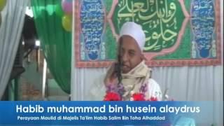 Habib Muhammad Bin Husein Alaydrus.  Hikmah Maulid Nabi Muhammad SAW dan Bakti kepada  Orang Tua